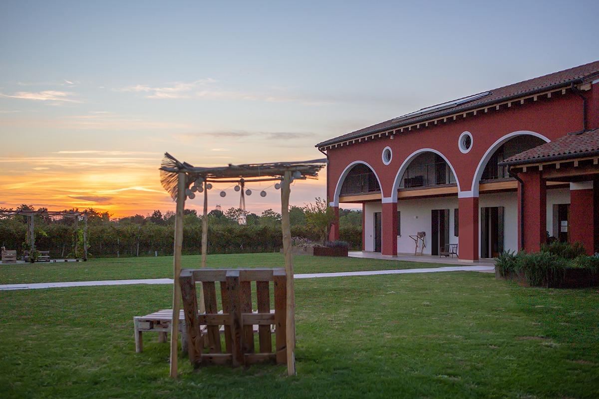 Area relax presso Agriturismo da Zeffi a Treviso